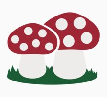 Fly agaric mushroom Kids Clothes