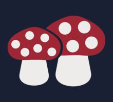 Mushroom Fly agaric Kids Clothes