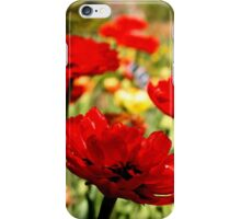 Red Flower Patch iPhone Case/Skin