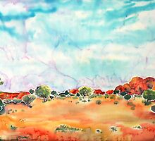 Womens Rocks Alice Springs Australia by Lorna Gerard
