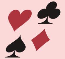 Poker card deck colors Kids Clothes
