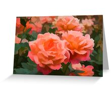 Happy, Fragrant Roses - Impressions of June Greeting Card
