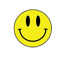 Smiley Face T Shirt Photographic Print
