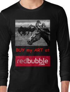 T - Buy My Art Long Sleeve T-Shirt