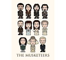 The Musketeers cast (print or card) Photographic Print