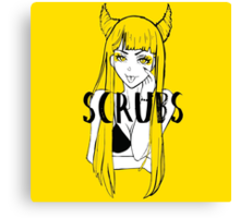 Scrubs' Succubus Canvas Print