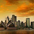 Sydney Sunrise 2 by David Mapletoft