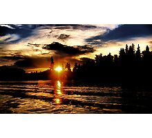 Virgin Sunset Photographic Print