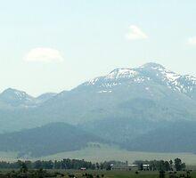 Blue Mountain Range of Central Oregon by Dave Sandersfeld