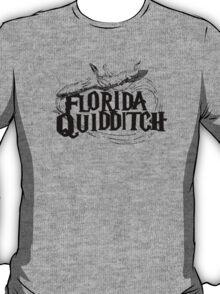 Florida Quidditch shirt (all black) T-Shirt