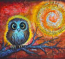 Owl Always Be Grateful by Agata Lindquist
