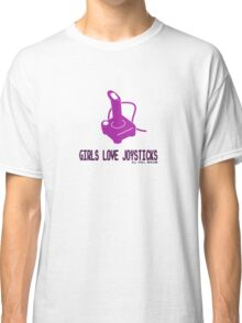 Girls love joysticks Classic T-Shirt