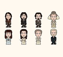 The Musketeers Cast (mug) by redscharlach