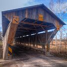 Chambers Road Covered Bridge by Terence Russell