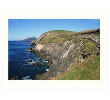 Dingle coastline Art Print