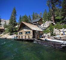 Cabin on Echo Lake by Christophe Testi