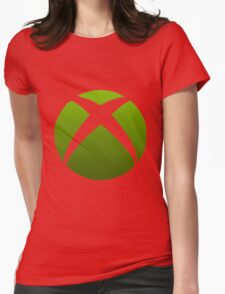 Xbox Logo Design Womens Fitted T-Shirt