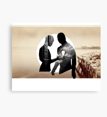 Turning on the Light Canvas Print