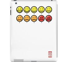"""""""On a scale of 1 to 10, how would you rate your pain?"""" iPad Case/Skin"""