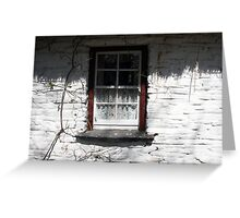 Bunratty cottage window Greeting Card