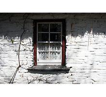 Bunratty cottage window Photographic Print