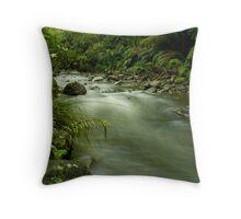 Karamatura Stream Throw Pillow
