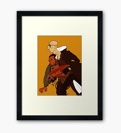 Supervillains Framed Print