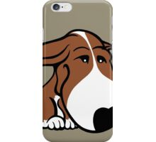 Soppy Bull Terrier Brown and White Coat iPhone Case/Skin