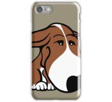 Soppy Bull Terrier Brown and White Coat iPhone Case/Skin