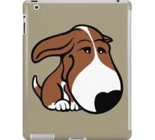 Soppy Bull Terrier Brown and White Coat iPad Case/Skin