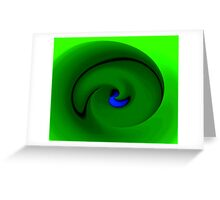 All curled up Greeting Card