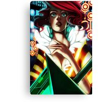 Red - Transistor Canvas Print