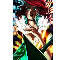 Red - Transistor Photographic Print
