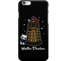Hello Doctor - Doctor Who themed Hello Kitty Design iPhone Case/Skin