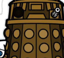 Hello Doctor - Doctor Who themed Hello Kitty Design Sticker