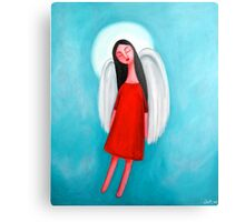Flying Angel Metal Print