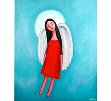 Flying Angel Photographic Print