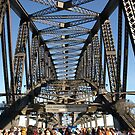 Sydney Harbour Bridge - World Youth Day Pilgrim Walk by Robyn Smith