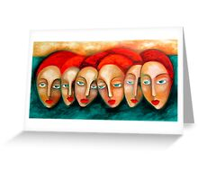 Dreamers Greeting Card