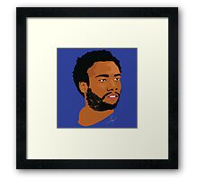 Hip Hop Portrait 1 Print Framed Print