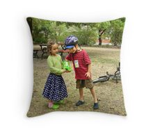 What's your name again? Throw Pillow
