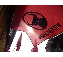 raise the red flag Photographic Print