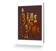 Arkham Nerd Squad Greeting Card