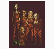 Arkham Nerd Squad Kids Clothes