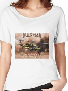 UH-60 Black Hawk Gulf War Veteran Women's Relaxed Fit T-Shirt