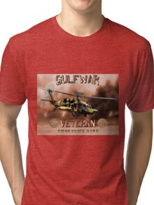 UH-60 Black Hawk Gulf War Veteran Tri-blend T-Shirt