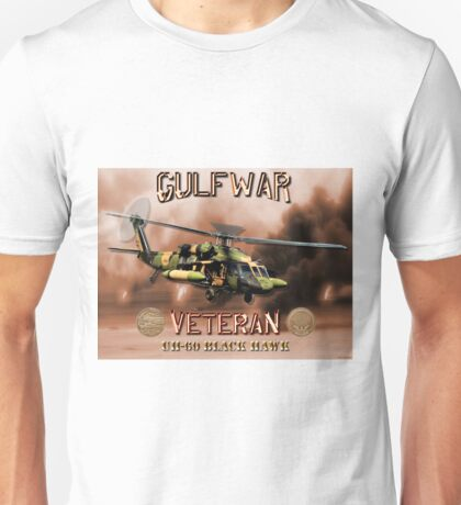 UH-60 Black Hawk Gulf War Veteran Unisex T-Shirt