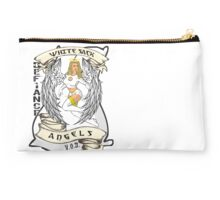White Sack Angels: Defiance Forever! Studio Pouch