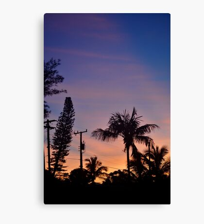 Floridian Sunrise Canvas Print