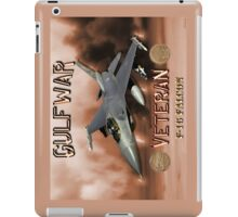 F-16 Falcon Gulf War Veteran iPad Case/Skin